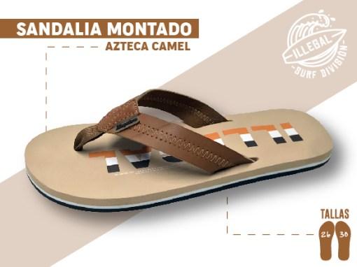 <b>SANDALIA MARCA ILEGAL</b>  <b>PARA CABALLERO</b>  <strong>Color Café claro con Tela </strong>  <b>TALLAS DEL 26 A 30 CM</b>  <b>PRECIO ESPECIAL A MAYORISTAS</b>  <b>mayoreo@comprastodo.com</b>  <b>SOMOS FABRICANTES</b> Sandalia Azteca Camel