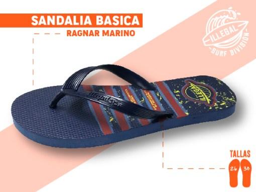<b>SANDALIA MARCA ILEGAL</b>  <b>PARA CABALLERO</b>  <b>TALLAS DEL 26 A 30 CM</b>  <b>PRECIO ESPECIAL A MAYORISTAS</b>  <b>mayoreo@comprastodo.com</b>  <b>SOMOS FABRICANTES</b> Sandalia Ragnar Marino