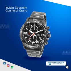 Invicta Specialty Gunmental Crono