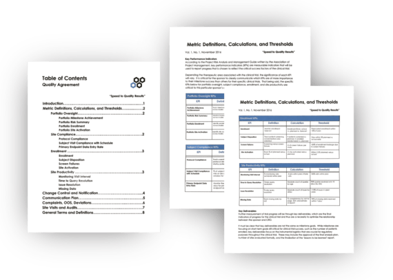 Critical Elements of a CRO Oversight Plan