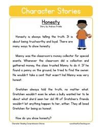 Honesty Worksheets Photos - Roostanama