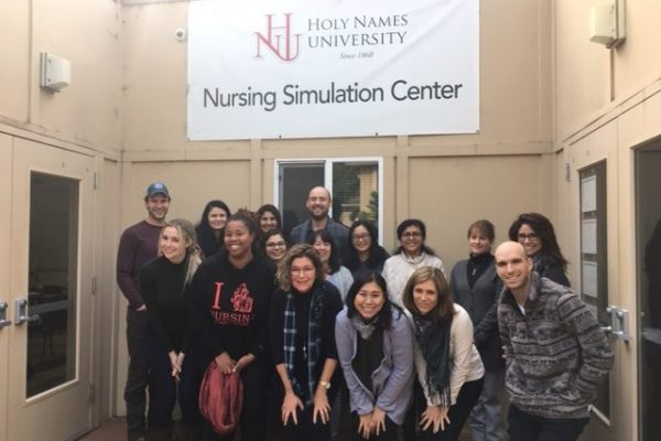 @ComprehensiveWellness Woman's Health Director, Patricia Geraghty NP, taught a marathon 5 hours of complicated gynecology to the Family Nurse Practitioner students at Holy Names University in Oakland. They are a bright and engaged group.