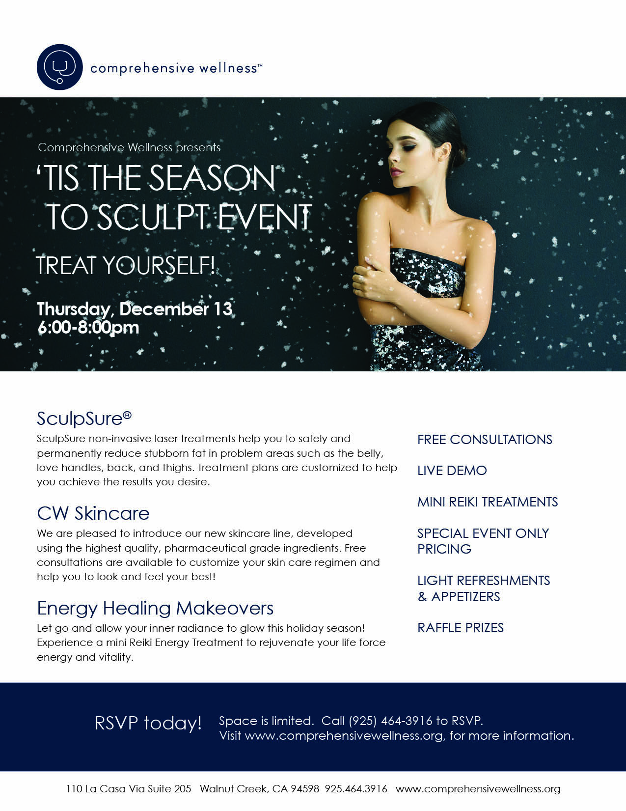 'Tis the Season to Sculpt - SculpSure Holiday Event