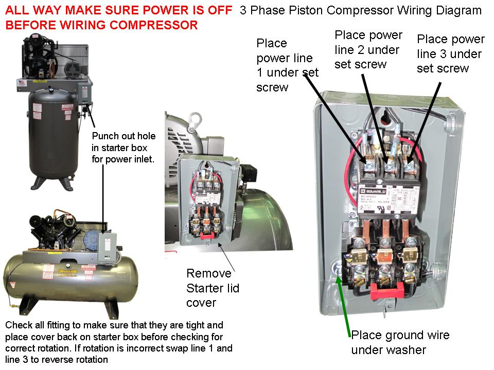 Starter Panel Wiring Diagram
