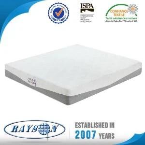 Roll Pack Slow Reboud High Density Memory Foam Mattress Manufacturers In China