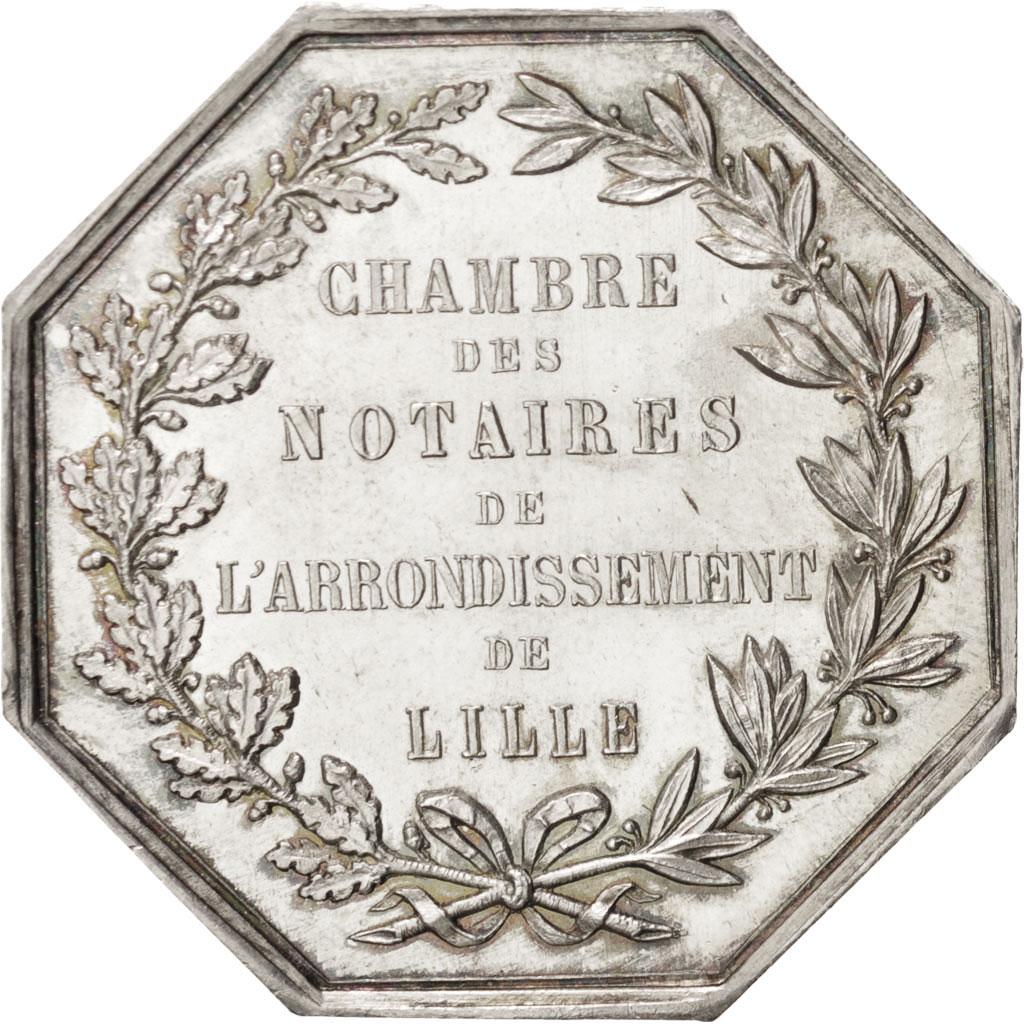 401249 Chambre des Notaires de larrondissement de Lille Jeton Lerouge 161  SUP Jeton  De