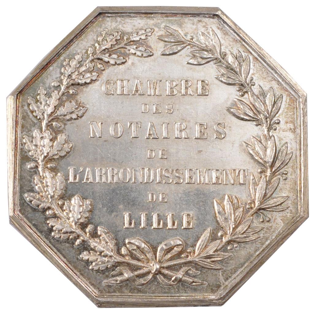 70027 Chambre des notaires de Lille Jeton  SUP Jeton  De 51  150 Euros Argent Comptoir