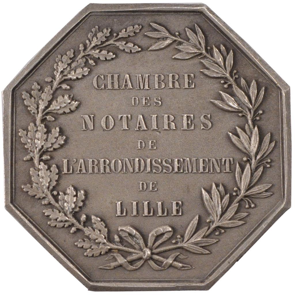 70028 Chambre des notaires de Lille Jeton  SUP Jeton  De 51  150 Euros Argent Comptoir