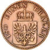 German States, PRUSSIA, Friedrich Wilhelm IV, 2 Pfennig, 1853, Berlin, KM:452
