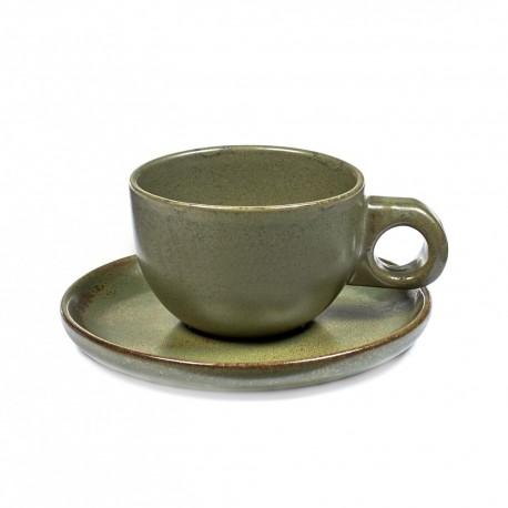 tasses a cafe gres originale design surface sergio herman serax
