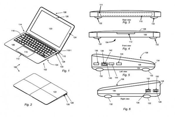 Apple souhaiterait breveter le design du MacBook Air, pour