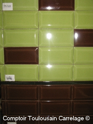 carrelage metro 75x15paisseur 9mmNouvelles couleurs 75x15 carrelage salle de bain metro