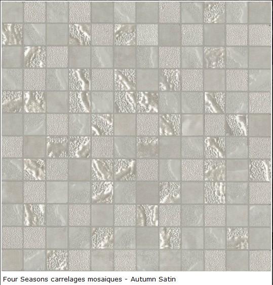 carrelage dco mosaique en grs crame 30x30  Srie Four Seasons Supergres  Mosaique et frise