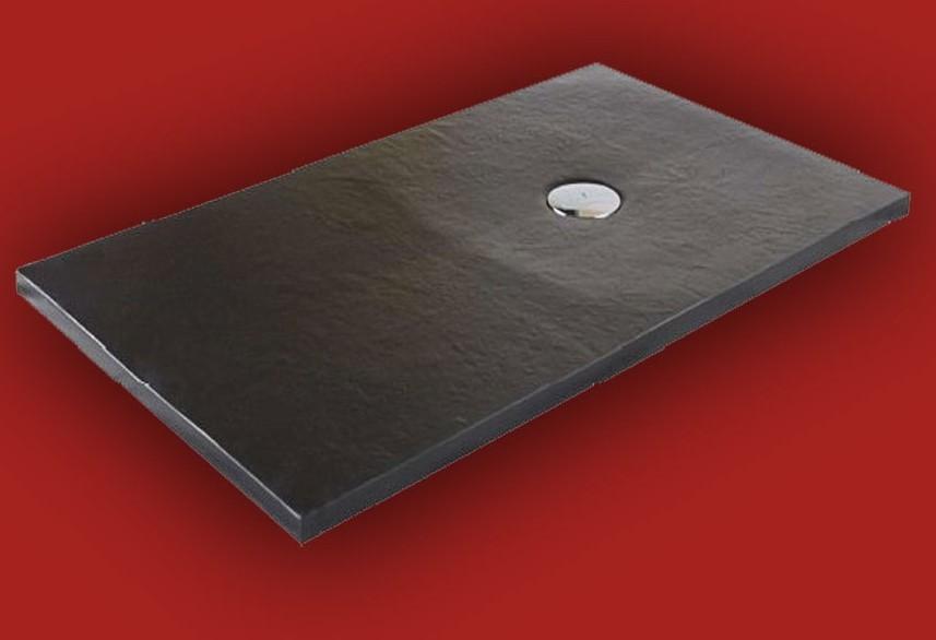 receveur de douche extra plat dimension 80x90 a 80x200 finition piza