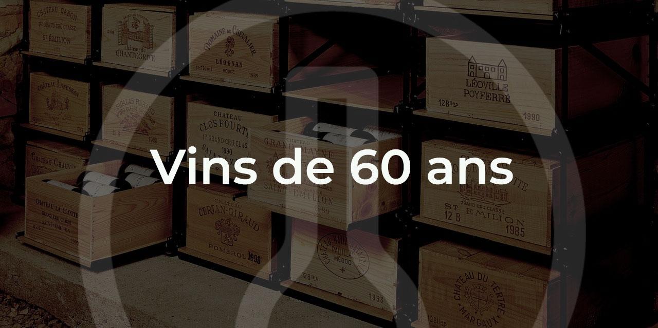 offrir un vin de 60 ans