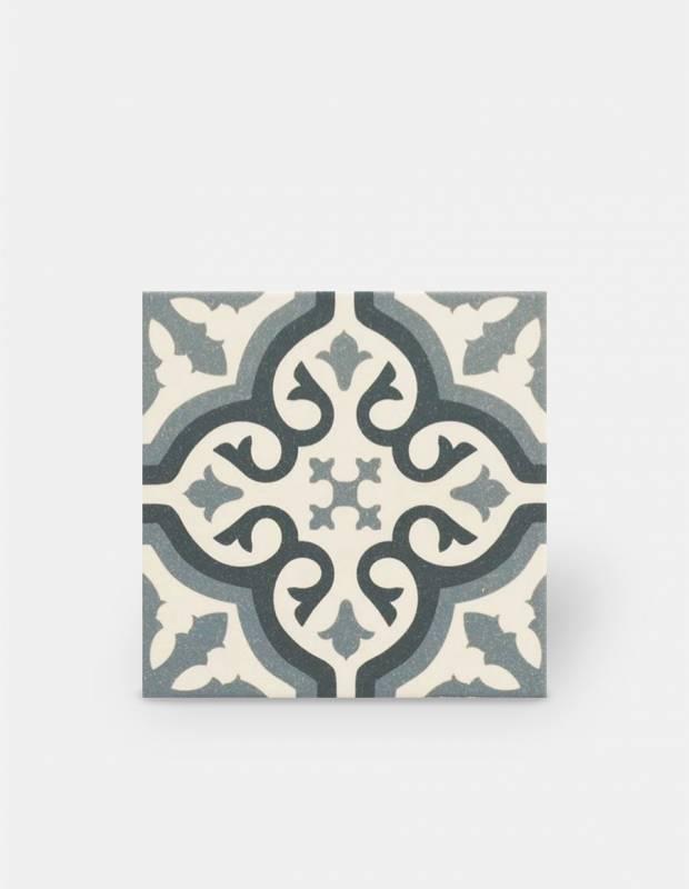 carrelage imitation carreau ciment sol et mur blue 20 x 20 cm fl0115007