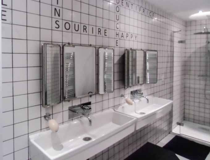 Carrelage salle de bain blanc mat 10x10 - Carrelage salle de bain blanc mat ...