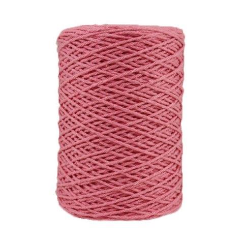 Coton bitord - Barbante - Fil de coton - Rose