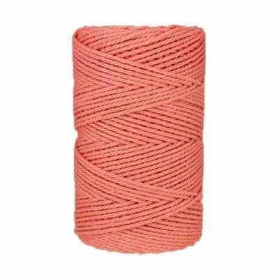 Macramé - corde - ficelle - coton- pale - Fil - 2,5mm
