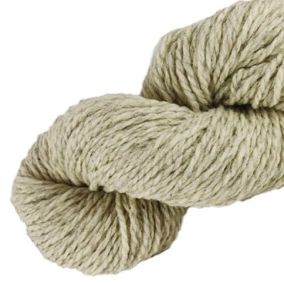 Laine naturelle Française - Voile de lin - Echeveau de pure laine de pays à tricoter