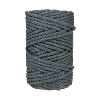 corde macramé 7mm gris ardoise