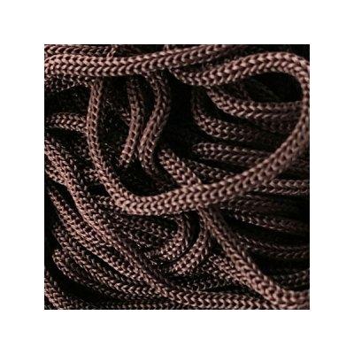 Cordon Swan Thai - Corde Thailandaise - Fil de 2mm - Marron chocolat - tricot - crochet - sacs