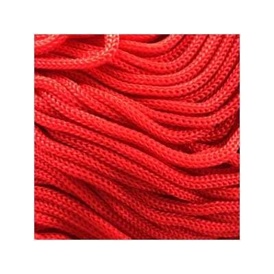 Cordon Swan Thai - Corde Thailandaise - Fil de 2mm - Rouge - tricot - crochet - sacs