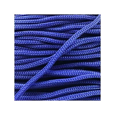 Cordon Swan Thai - Corde Thailandaise - Fil de 2mm - Bleu éléctrique- tricot - crochet - sacs