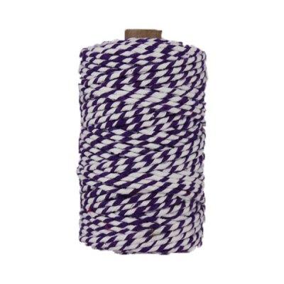 Ficelle Baker Twine - 3mm - Bobine violet et banc