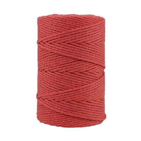 Corde macramé - Coton - Cordon - Ficelle - Fil 3 mm - Rose terracotta