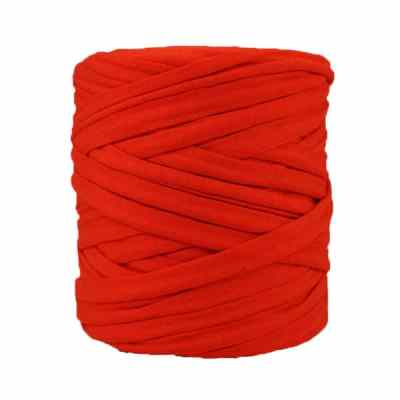 Trapilho corail - Bobine, pelote de t-shirt yarn, Hooked, zpagetti, trapillo. Fil de tissu recyclé en jersey pour crochet, tricot, tissage, macramé, bijoux