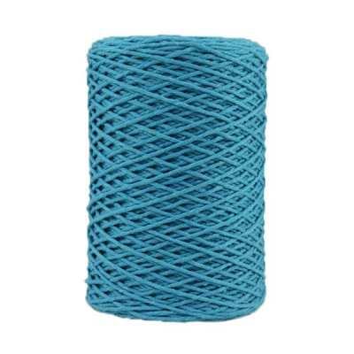 Coton bitord (barbante) - 2 mm - Bleu bondi