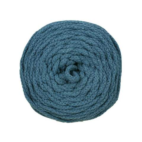 Cotton Air - 4 mm - Bleu jean