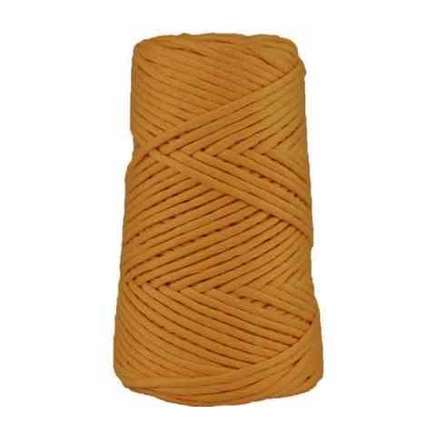 Coton peigné suprême - Safran