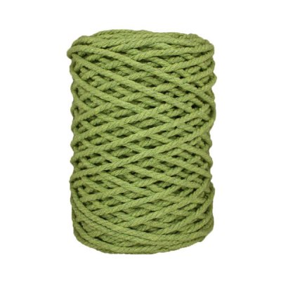 Cordon macramé - Vert anis