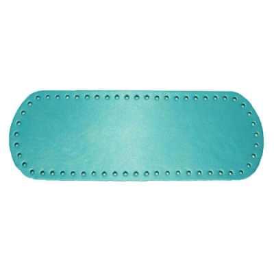 Fond de sac ou base de sac à coudre ou à crocheter - Bleu cyan