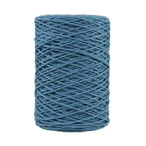 Coton bitord barbante - 2 mm - Bleu jean