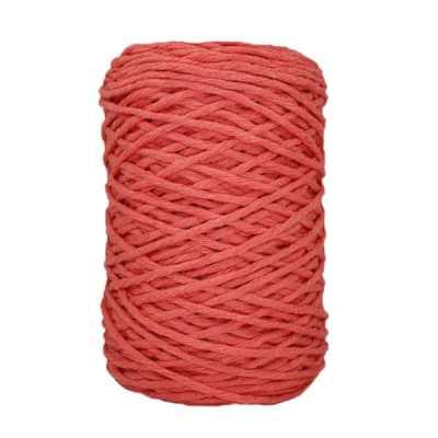 Coton bitord (barbante) - 3 mm - Rose terracotta