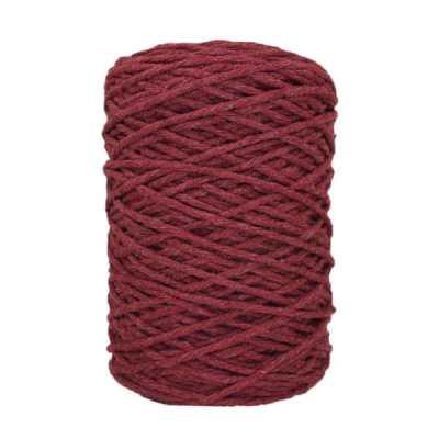 Coton bitord (barbante) - 3 mm - Lie de vin