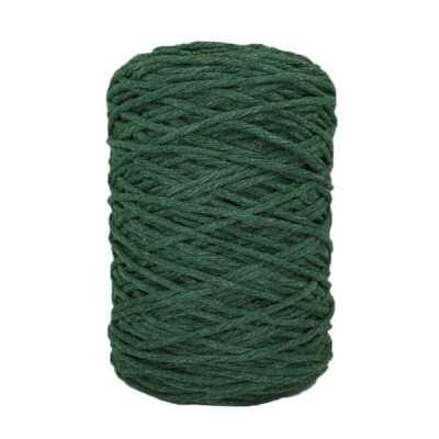 Coton bitord (barbante) - 3 mm - Vert mélèze