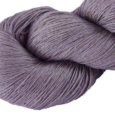 Fil de lin - Glycine - Tricot - Crochet