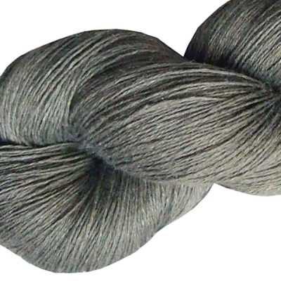 Fil de lin - Gris ardoise - Tricot - Crochet