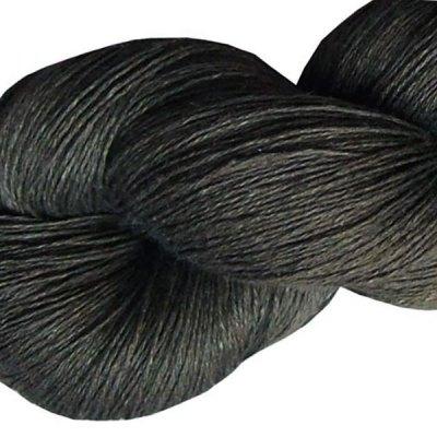 Fil de lin - Gris anthracite - Tricot - Crochet