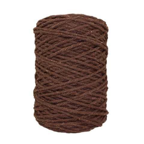 Coton bitord (barbante) - 3 mm - Chocolat