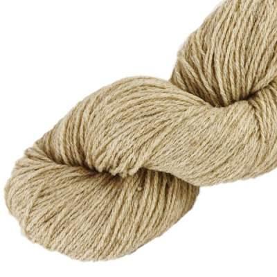 Laine naturelle Française - Sable - Echeveau de pure laine de pays à tricoter