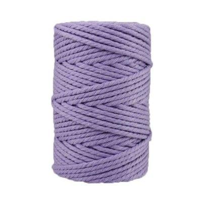 Corde macramé - 4 mm - Lavande