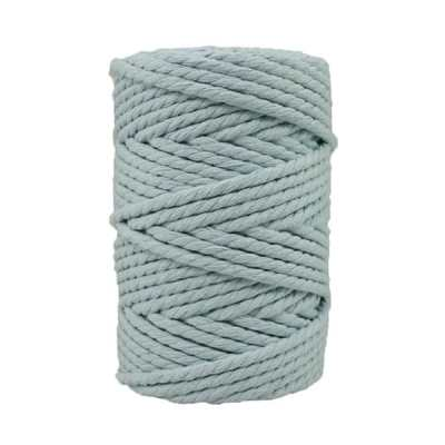 Corde macramé - 4 mm - Bleu-dragée