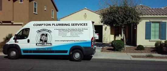 Compton Plumbing Services in Mesa, Arizona