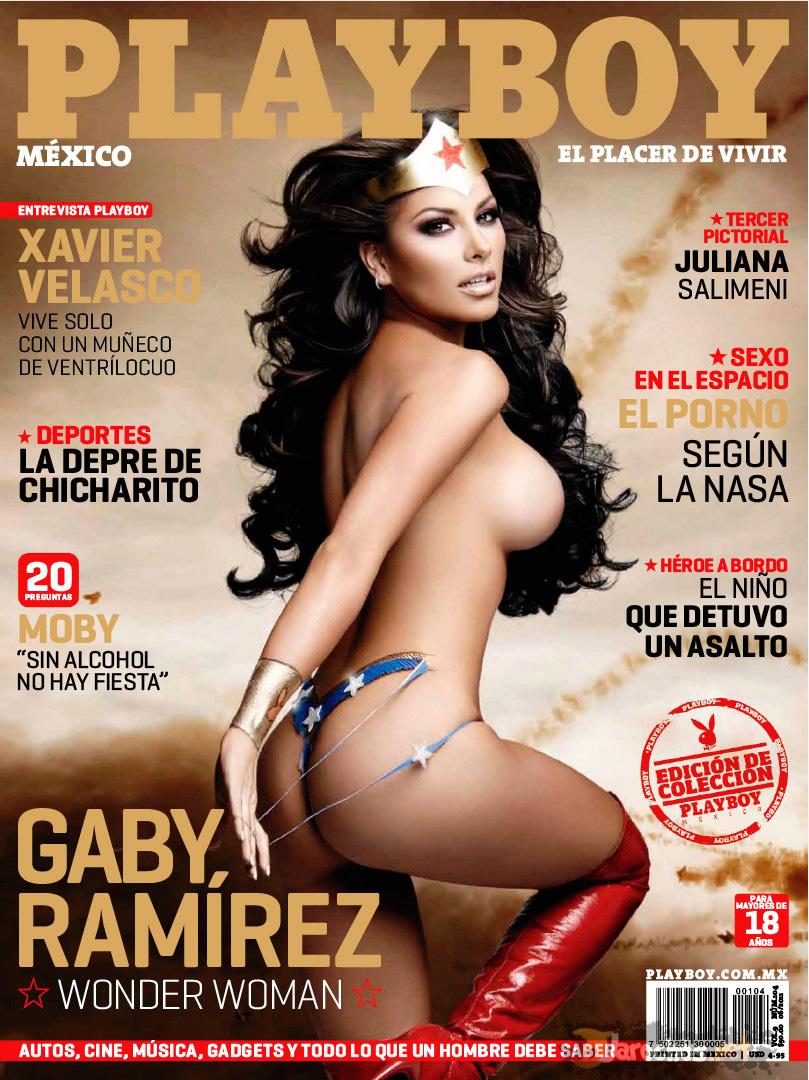 Gaby Ramirez Playboy Junio de 2011