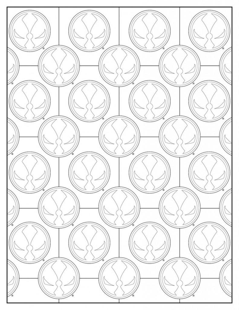 Libro para colorear de Spawn de Image Comics